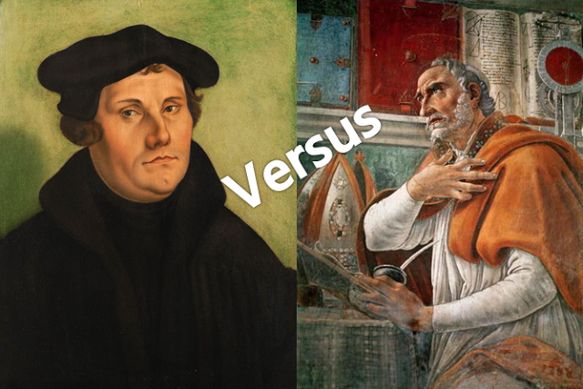 Augustinian Influenced Sanctification Versus Lutheran Sanctification     Augustinian Influenced Sanctification Versus Lutheran Sanctification   PM  Notes