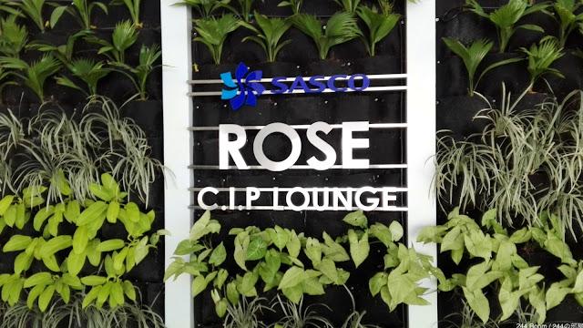 ROSE C.I.P Lounge-SGN Airport タンソンニャット空港ラウンジ