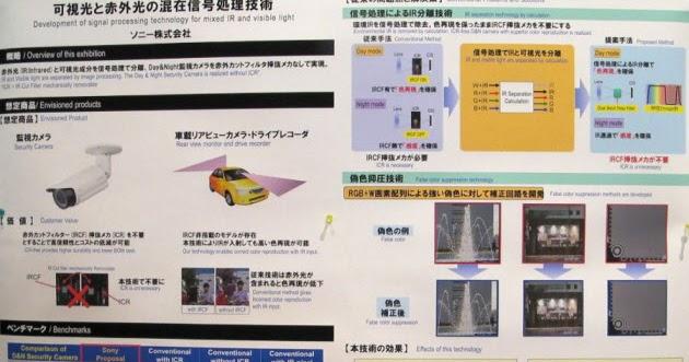 Image Sensors World: Sony Presents its Solid-State RGB-IR