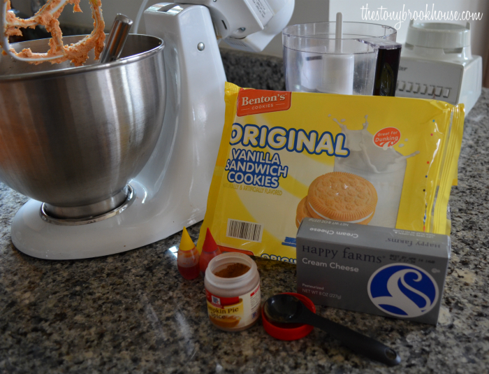 Pumpkin Truffle Ingredients