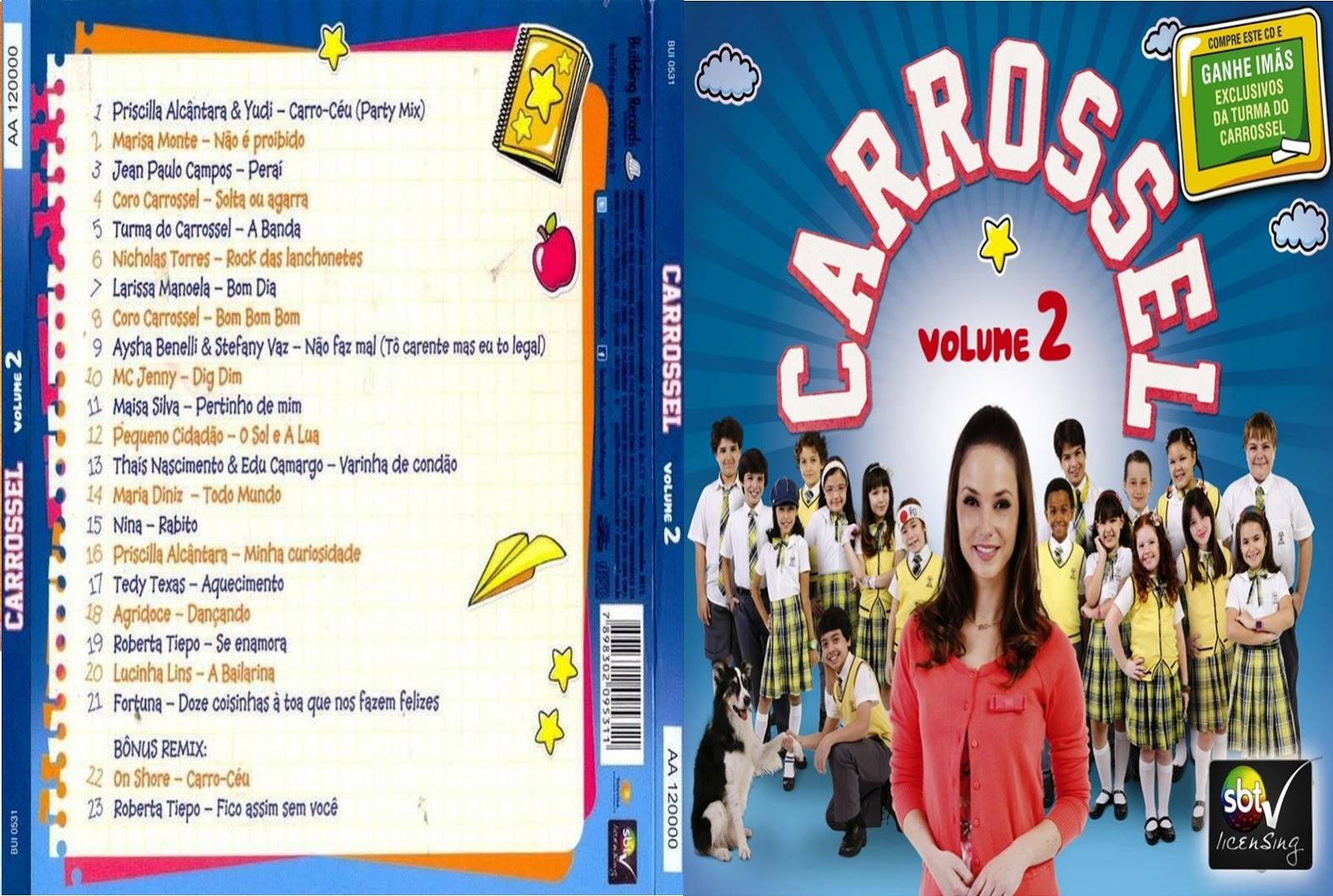 cd do carrossel volume 2 gratis