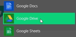 Sinkronisasi Komputer dengan Google Drive Sinkronisasi Komputer dengan Google Drive