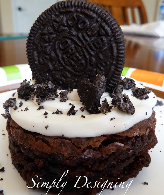 OB+2 Frosted Oreo Brownies 9