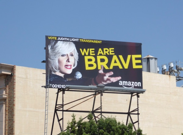 Judith Light Transparent Brave Emmy billboard