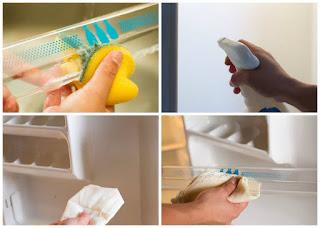 Tháo gỡ và làm sạch các ngăn kệ trong tủ