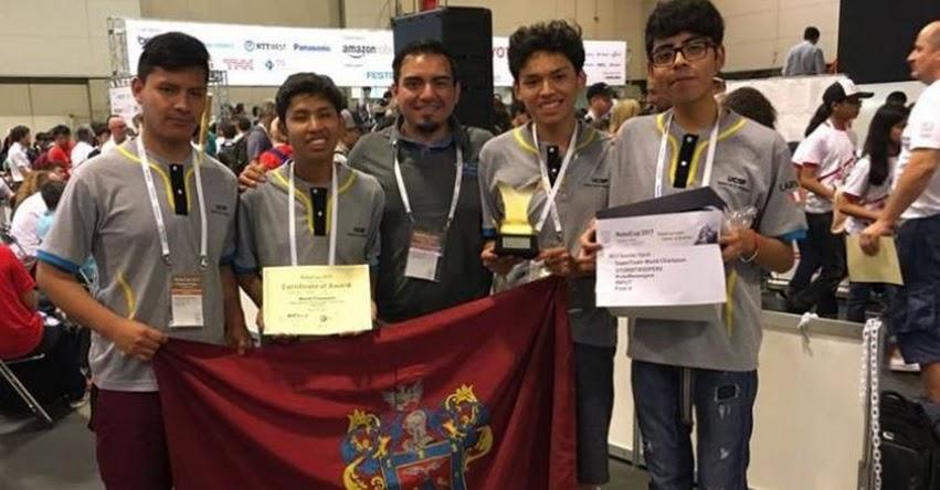 Universitarios peruanos campeonan en Mundial de Robótica «Robocup 2017» en Japón