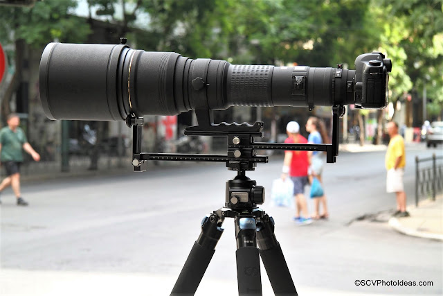 Sunwayfoto YLS-G3 supporting Sigma 800 mm EX DG APO beast