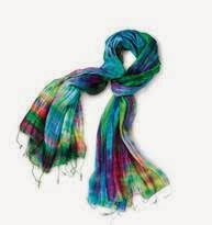 rpyal silk scarf