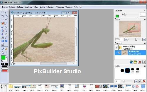 تحميل برنامج تحرير ورسم الصور والتعديل عليها PixBuilder Stud