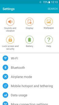 Samsung Galaxy S7 Custom ROM For Infinix Hot Note X551 1+