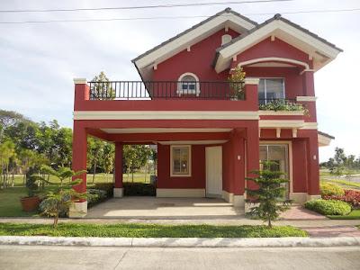 บ้านสีส้มแดง