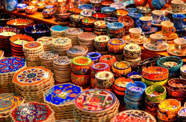 Pechinchar é a regra nas compras em Istambul na Turquia