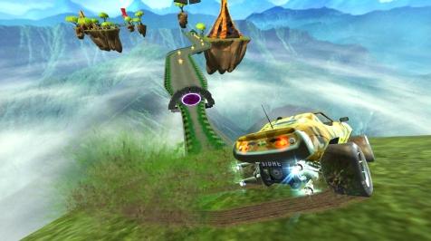Gripshift. Game que estará disponível na retrocompatibilidade do Xbox