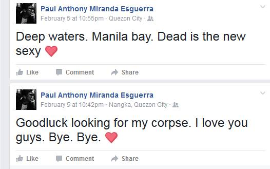 Marikina Teacher Announces His Own Death on Facebook Then Mysteriously Disappears! Have You Seen Him?