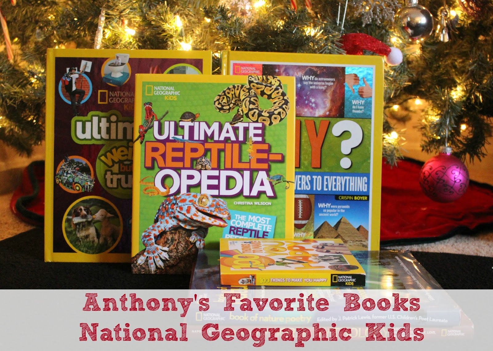 Anthony's Favorite National Geographic Kids Books