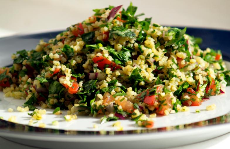 Makan Salad Saad Ramadan,
