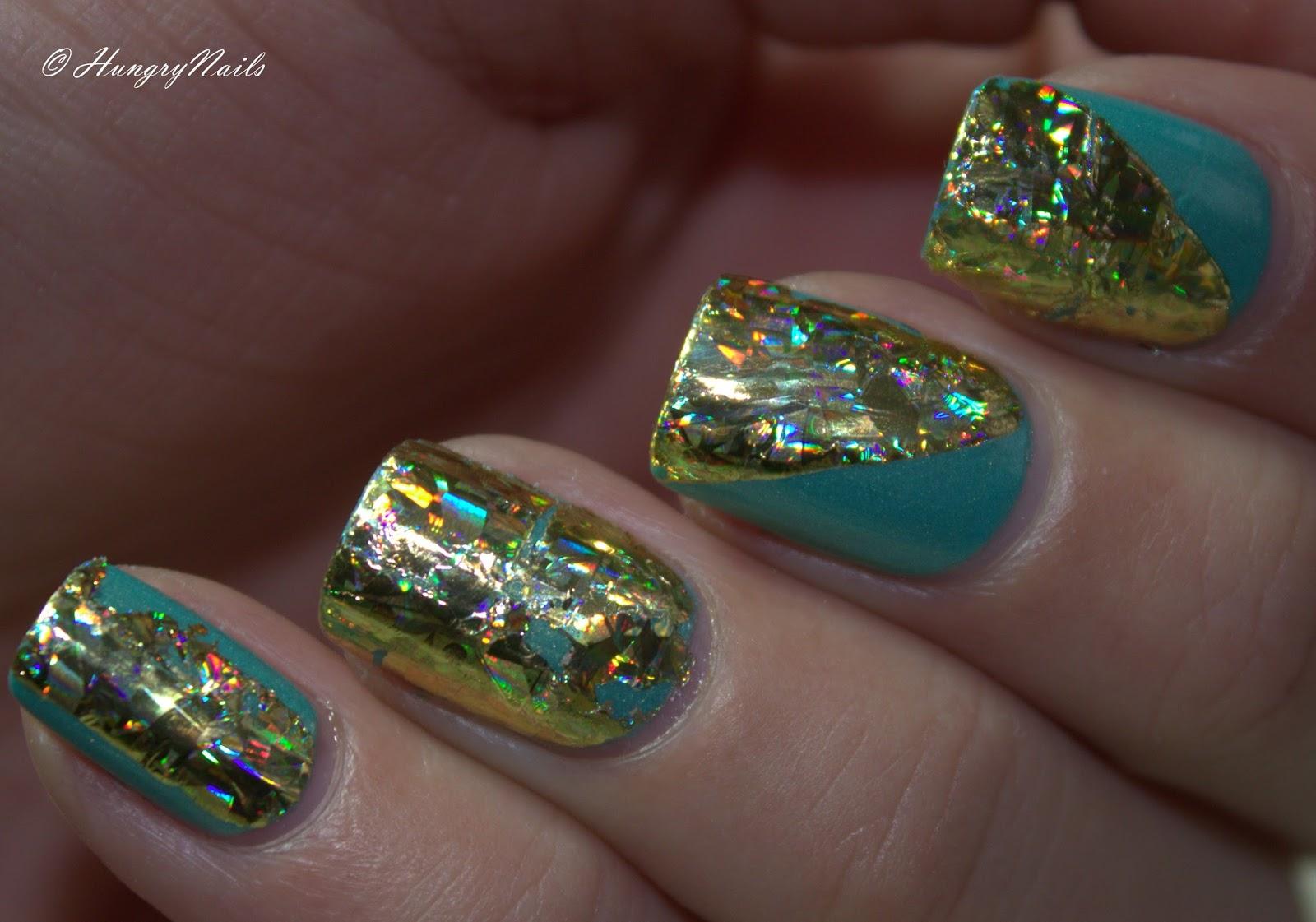 Nail Art | Transfer Folien Design - HungryNails Blog | Die bunte ...