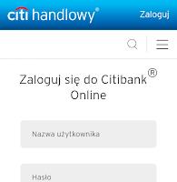 Promocja dla klientów Citibanku: bonus 20 zł za jedno zalogowanie na smartfonie lub tablecie