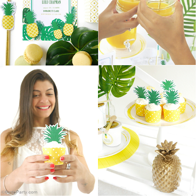 Party Like a Pineapple | A Tropical 25th Birthday Party