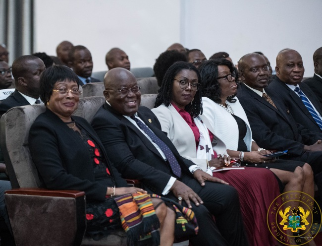 President Akufo-Addo Launches e-Justice Project