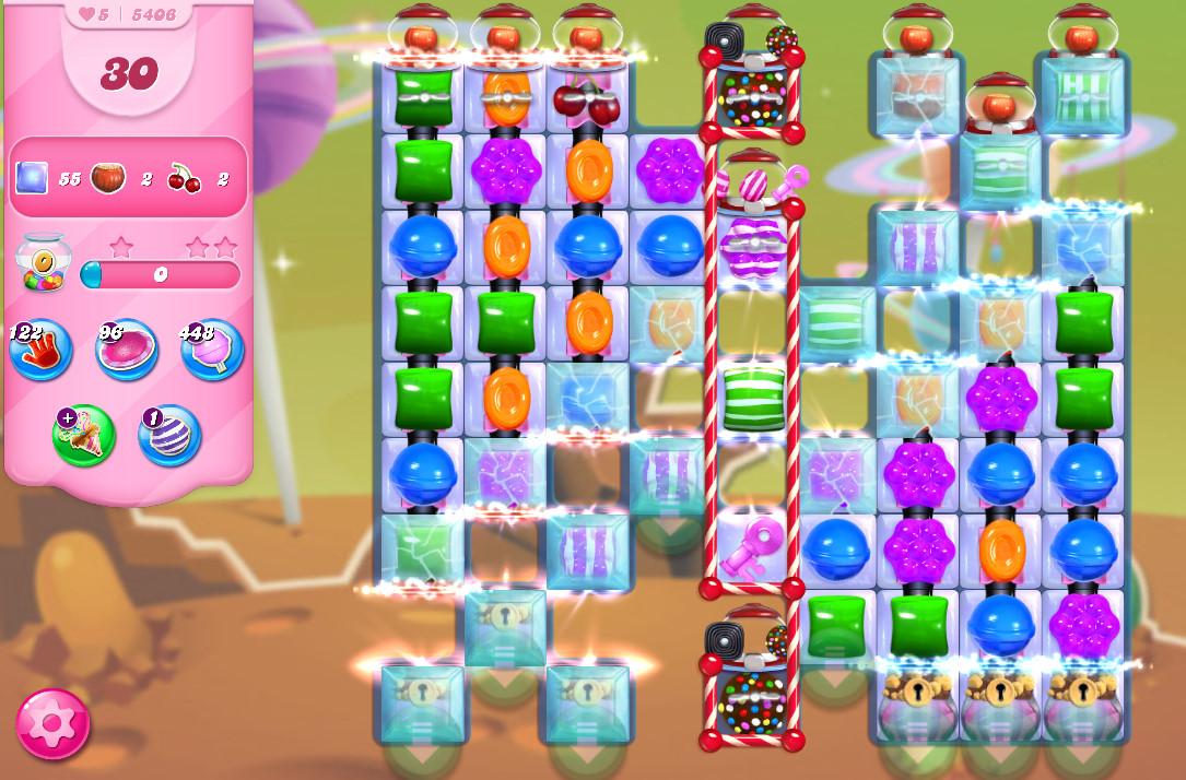 Candy Crush Saga level 5406