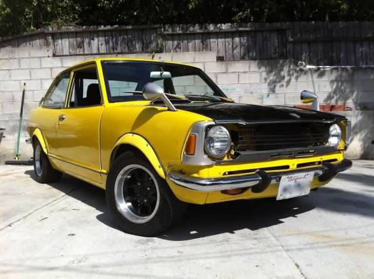 Daily Turismo: 5k: 1971 Toyota Corolla with Rotary Engine