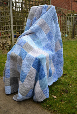Knitted Sky Blanket