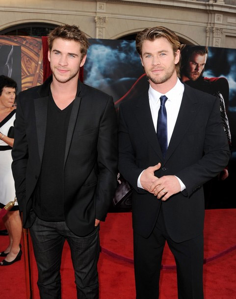 """The Randy Report: Chris and Liam Hemsworth - """"Thor"""" premiere"""