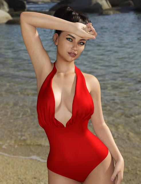 Riviera Swim for Genesis 8 Female
