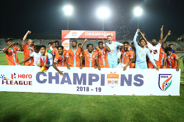Chennai City FC-Hero I-League Champions