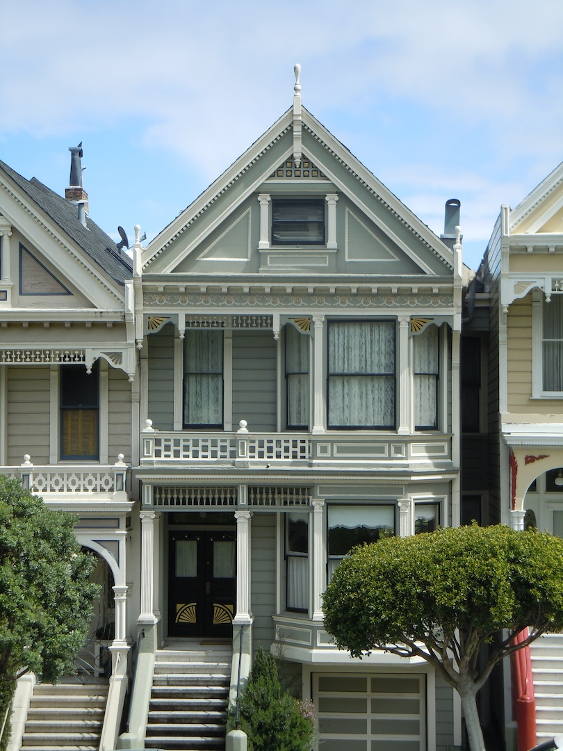 San francisco notes victorian houses - What is a victorian house ...
