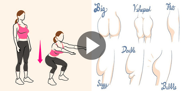 5 Minute Butt And Thigh Workout For A Bigger Butt - Exercises To Lift And Tone Your Butt And Thighs!