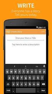 Wattpad App For Android write your story