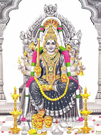 Hindu Goddess mariamman wallpaper