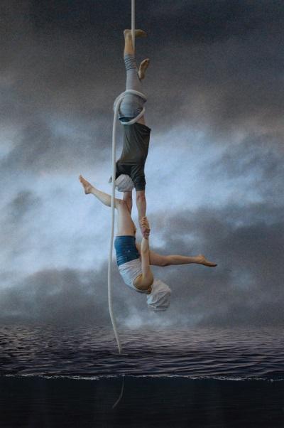 """Acrobat series"" foto por Thomas Emerson - 2017 | imagenes obras de arte bellas bonitas chidas | art pictures, cool stuff"