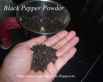 Blacke Pepper Powder