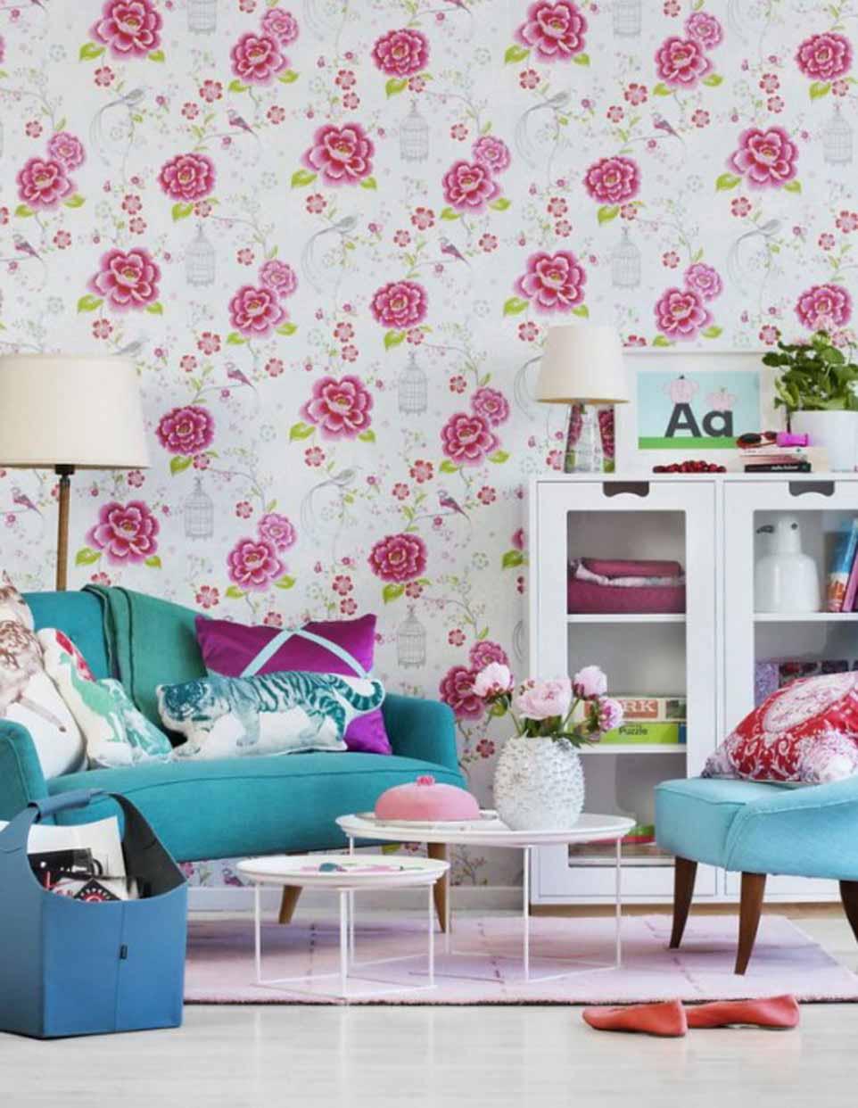 76 Model Wallpaper Dinding Rumah dan Kamar Terbaru 2020