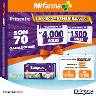 [Sorteo] Participa y gana premios de S/4000 y S/1500 - La Recompensa Babysec