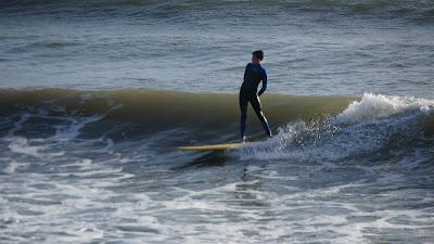 Cealan surfing Swanpool