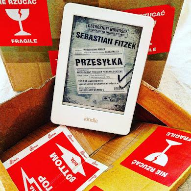 """S.Fitzek- """"Przesyłka""""- czy warto zamawiać swoją, znajdując w niej tą książkę?"""