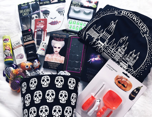 DIY Halloween Hamper: Easy Budget Beauty Trick or Treat Care Package Gift