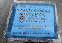 portsmouth city council fixed parking penalty