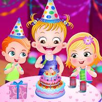العاب بيبي هازل يوم عيد ميلادها الثالث
