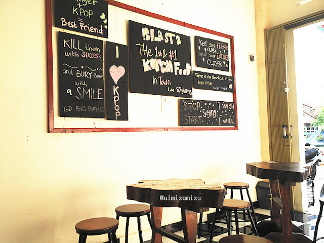 Korean cafe di padang