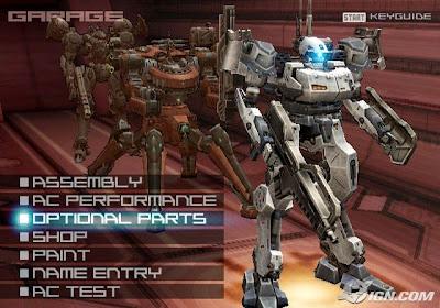 Armored Core: Nine Breaker (PS2) 2004