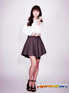 Foto Profil Biodata Kim Ji Won