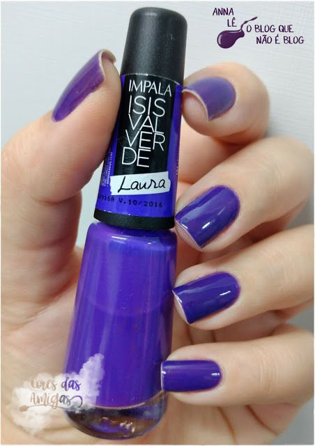 Esmalte Nailpolish Laura Impala Isis Valverde Ulta Violet Pantone