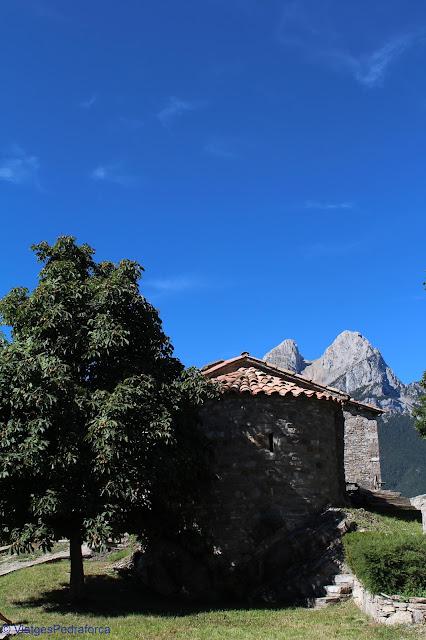 Església romànica de Sant Ponç, Molers, Saldes, Art romànic,Alt Berguedà, Parc natural del Cadí-Moixeró, Catalunya
