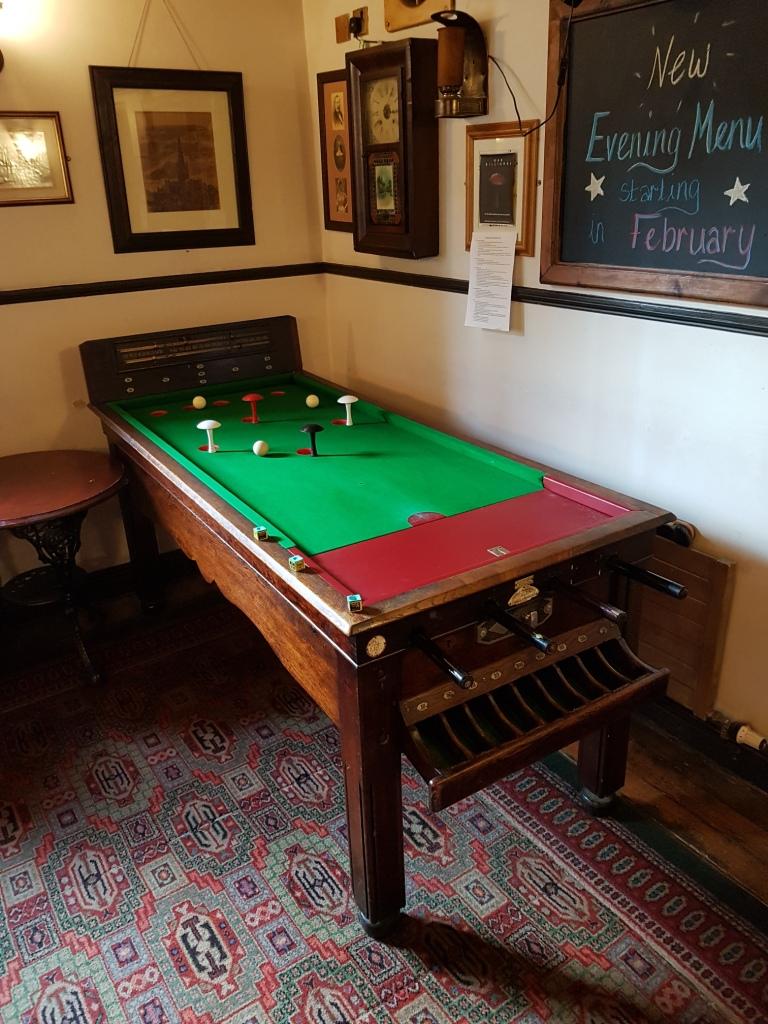 Bar Billiards At The Golden Star Pub In Norwich