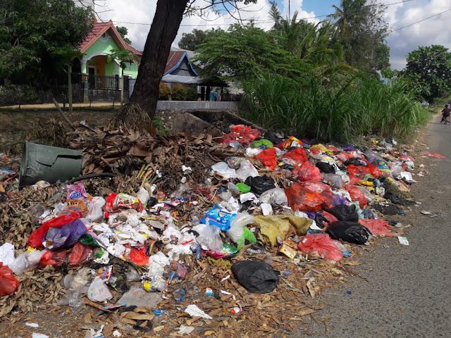 Sampah di Jalan Abu Dg Pasolong Sudah Sepekan Tak Pernah Diangkut, Resahkan Warga